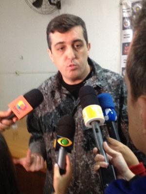 Capitão Alexandre Vilariço, da Tropa de Choque (Foto: Kleber Tomaz / G1)
