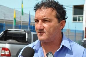 Zacarias Lopes presidente do Náuas (Foto: Vanisia Nery)