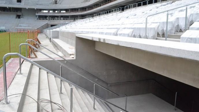 Arena da Baixada, estádio do Atlético-PR, em março de 2014 (Foto: Site oficial do Atlético-PR/Divulgação)
