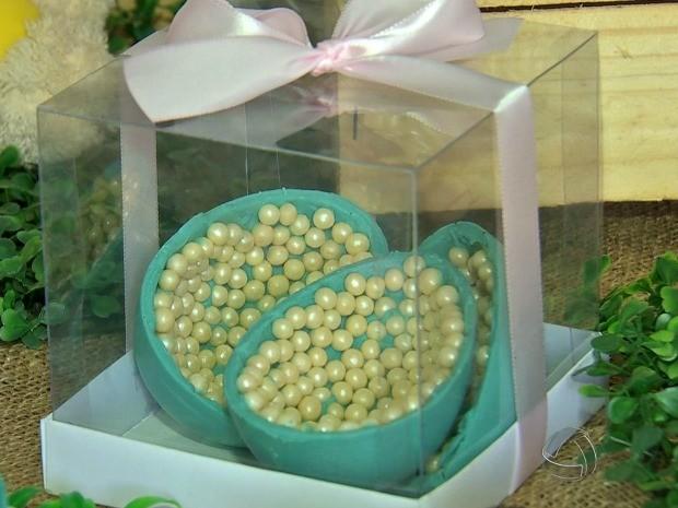 Ovos perolizados são verdadeiros presentes (Foto: Reprodução/ TVCA)