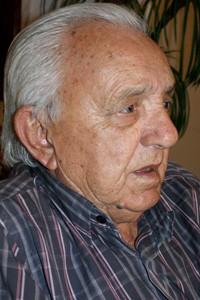 Sebastião de Almeida Ramos, pai de Carlos Cachoeira, que está preso desde fevereiro. (Foto: Vianey Bentes/ TV Globo)