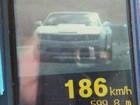 PRF flagra Camaro a 186 km/h na BR-163 na região norte de MS