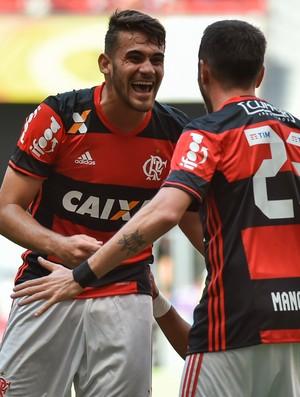 Vizeu e Mancuello - gol - Flamengo x Atlético-MG (Foto:  ANDRé BORGES /AGIF/ESTADÃO CONTEÚDO)