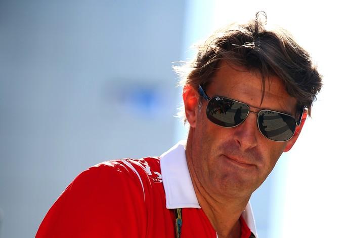 Ex-chefe da Marussia, Graeme Lowdon segue no comando da escuderia, agora chamada de Manor (Foto: Getty Images)