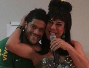comediante seleção brasil Ciro virginia e hulk (Foto: Divulgação)