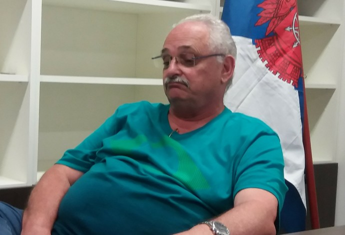 Superintendente da CBDA, Ricardo de Moura pede paciência e se defende de ataques (Foto: João Gabriel Rodrigues)