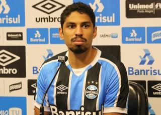 Wallace Grêmio (Foto: Eduardo Moura/GloboEsporte.com)