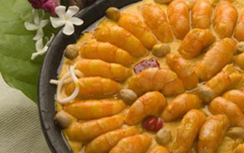 Dandá de camarão: conheça o prato que tem creme de aipim e palmito