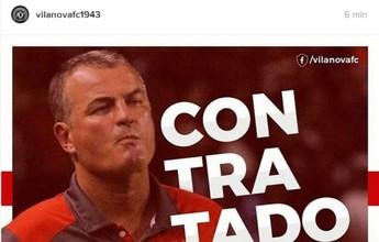 Vila Nova contrata técnico Mazola Júnior para temporada de 2017