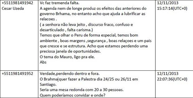 Troca de mensagens mostra que Lula era chamado de 'Brahma' entre executivos da OAS