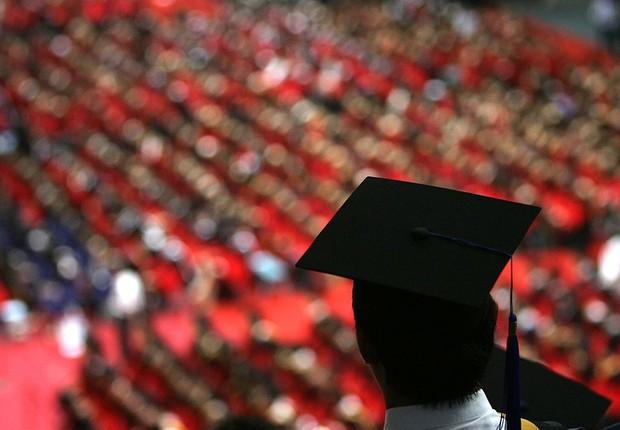 graduação, mba, formatura, universidade, faculdade, educação (Foto: China Photos/Getty Images)