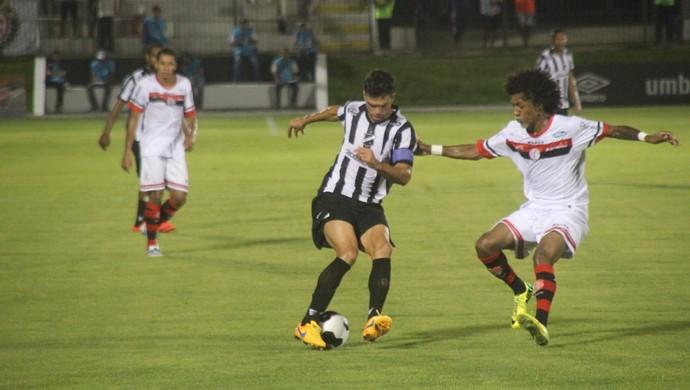 ABC x Campinense Copa do Nordeste (Foto: Fabiano de Oliveira)