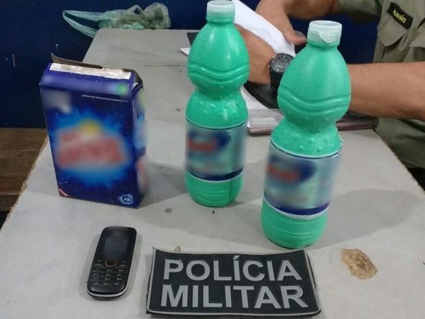 Material foi encontrado na cadeia de Serra Talhada, no Sertão (Foto: Divulgação/Nayn Neto)
