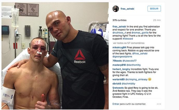 BLOG: IMAGEM FORTE: nariz de Rory MacDonald fica estragado após derrota