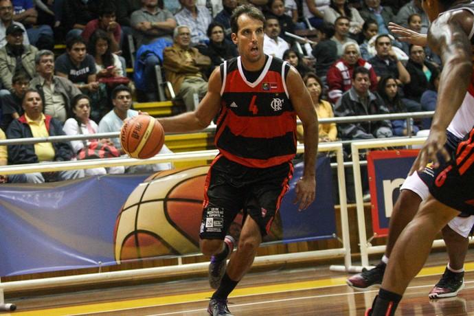 Basquete - Flamengo x Mavort - Marcelinho (Foto: FIBA Américas)