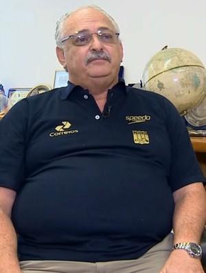Ricardo de Moura, Superintendente técnico da Confederação Brasileira de Desportos Aquáticos (Foto: Reprodução SporTV)