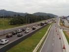 Volta do feriadão provoca tráfego intenso nas rodovias de SC