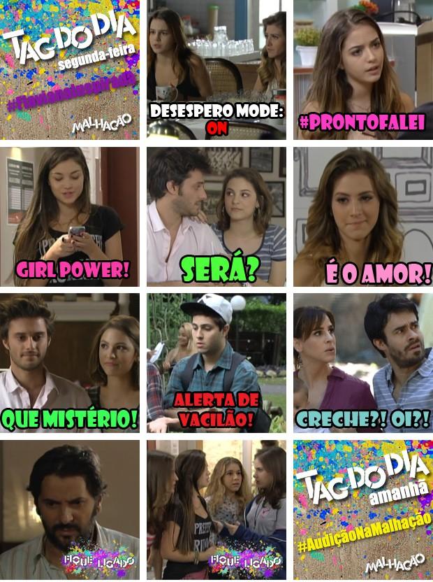 Capítulo 224 (Foto: Malhação / TV Globo)