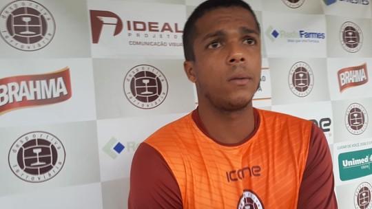 Erick Daltro não acredita em pressão após trocar o Rio Branco pela Desportiva