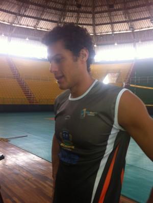 O ponta Túlio já jogou pelo Cruzeiro e vai enfrentar a antiga equipe na estreia pelo Montes Claros (Foto: Henrique Corrêa/Globoesporte.com)
