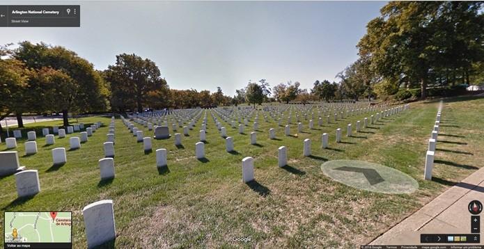 Arlington National Cemetery é um dos mais visitados dos Estados Unidos (Foto: Reprodução/Gabriel Ribeiro)