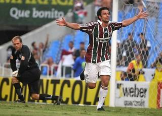 Fred em Fluminense x Macaé em 2009 (Foto: André Durão)