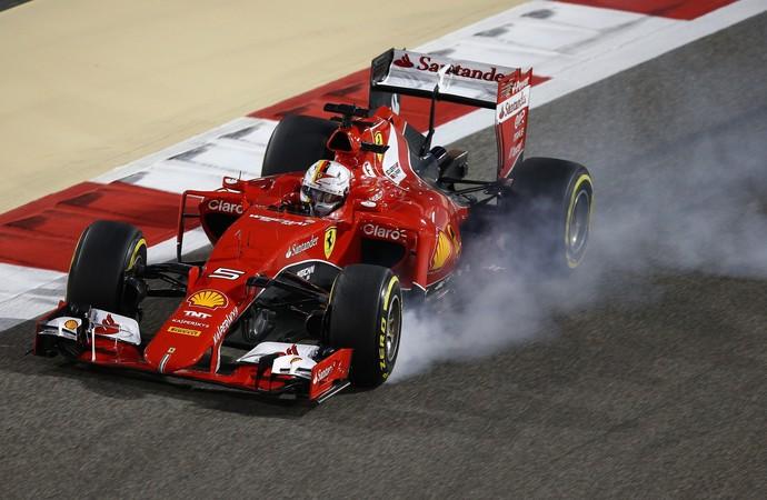 Sebastian Vettel no GP do Bahrein, Fórmula 1 (Foto: Getty Images)
