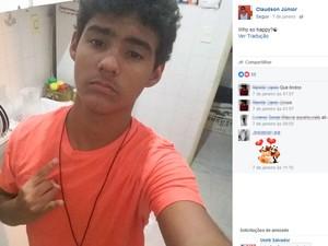 Adolescente foi baleado após reagir a assalto quando chegava em casa (Foto   Reprodução  e0ac3bbd4a5