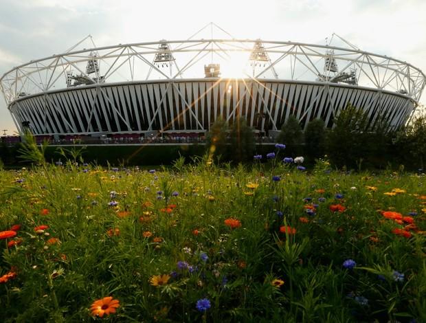 Estádio Olímpico Londres sol (Foto: Getty Images)