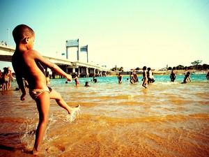 Menino - Ilha do Fogo - Petrolina (Foto: Lizandra Martins/Arquivo pessoal)