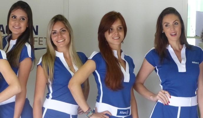 Grid girls em Interlagos (Foto: Fred Sabino)