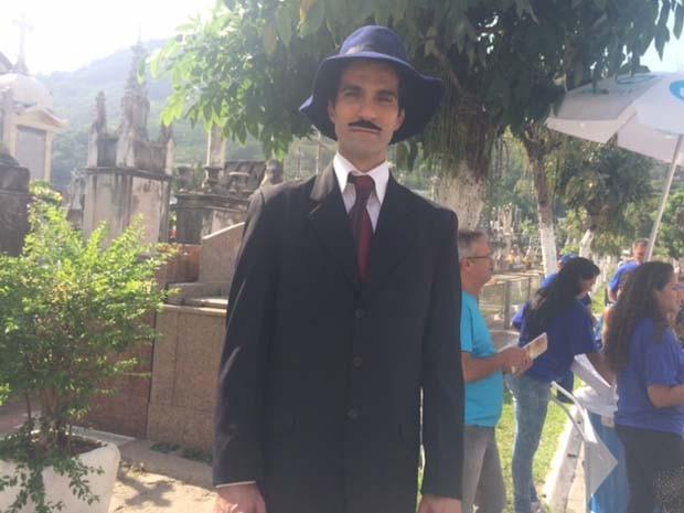 'Santos Dumont' também circulava pelo São João Batista neste domingo (2) (Foto: Guilherme Brito/G1)