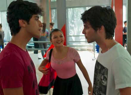 Jabá diz que Lucas está balançado por Luíza