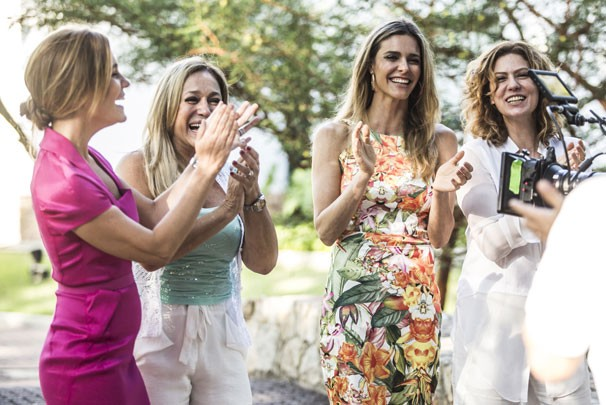Adriana Esteves, Susana Vieira, Fernanda Lima e Patrícia Pillar (Foto: Raphael Dias/ TV Globo)