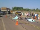 Quatro pessoas morrem em dois acidentes na BR-060, em Goiás