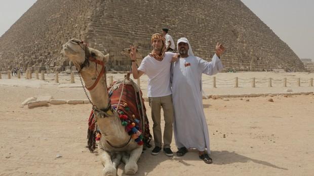 Pedro Pelo Mundo - Galeria Egito - Episdio 1 (Foto: Gustavo Nasr e Guto Barra)