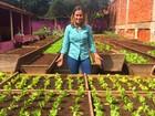 Família cria 'minifazenda' em meio a prédios de Goiânia