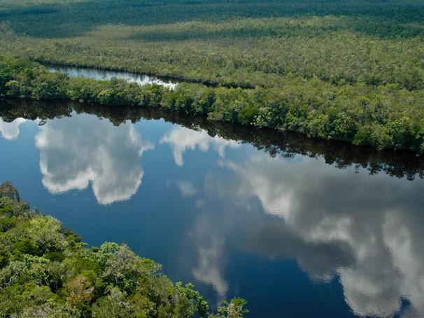 Rio da Bacia Amazônica (Foto: Divulgação/Gérard Moss)