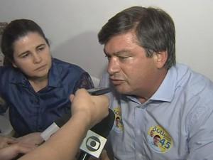 Daniel Alonso foi eleito prefeito de Marília  (Foto: Reprodução / TV TEM)