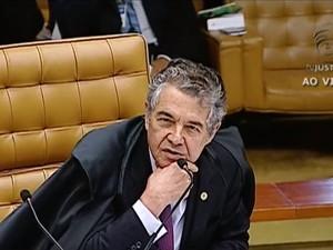 Ministro Marco Aurelio Melo STF (Foto: Reprodução/TV Justiça)