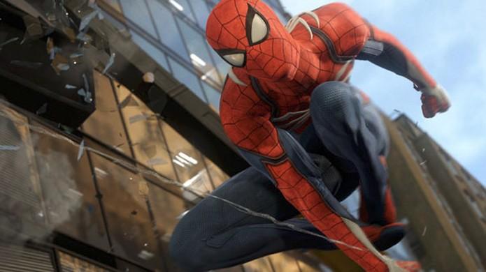 Homem-Aranha irá voltar aos videogames com novo Spider-Man para o PlayStation 4 anunciado na E3 2016 (Foto: Reprodução/Gematsu)