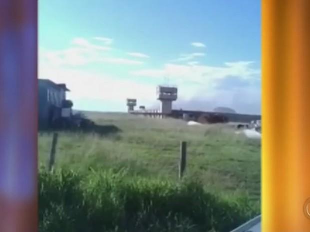 Tumulto em penitenciária de Lavínia  (Foto: Reprodução/TV Tem)