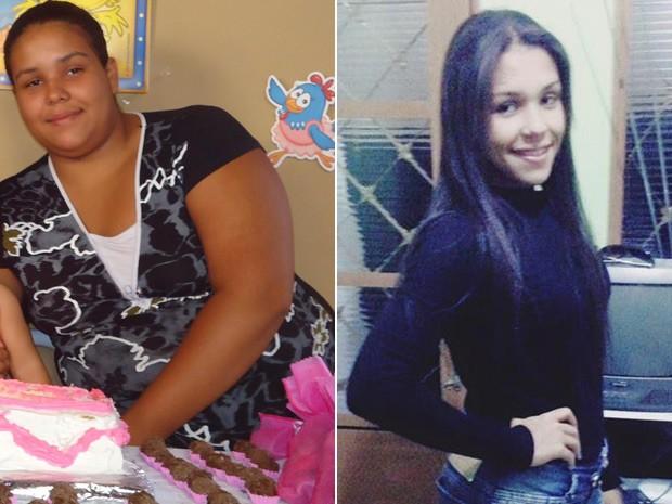 Mudança de hábitos e exercícios levaram Tayna a emagrecer 60 kg em um ano (Foto: Tayna César/Arquivo pessoal)