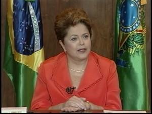 Dilma diz que só remarca viagem aos EUA após pedido de desculpas por espionagem/GNews (Foto: Reprodução Globo News)