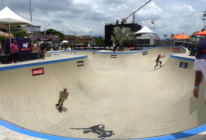 pista do Mundial de Skate Bowl, em Madureira (Foto: Flávio Dilascio)