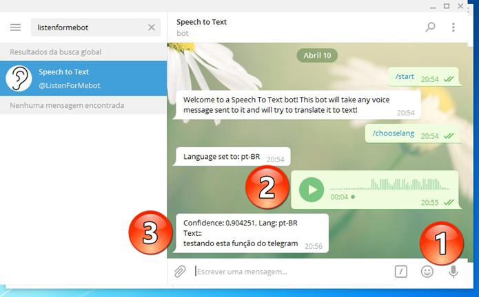 Transcrevendo áudio em texto (Foto: Felipe Alencar/TechTudo)