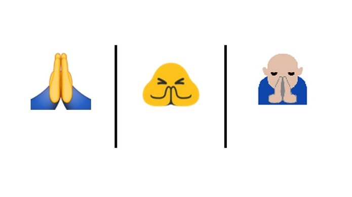 Emoji pode ser confundido com high-five no iOS. Atualização quer evitar ambiguidade (Foto: Reprodução/Unicode)