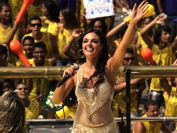 Isis Valverde em cena de 'O canto da Sereia', minissérie que estreia nesta terça-feira (Foto: Estevam Avellar/ Digulgação TV Globo)