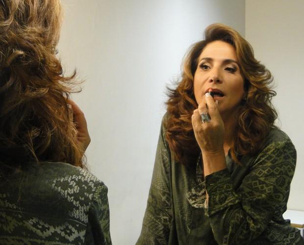 Totia Meirelles (Foto: Domingão do Faustão / TV Globo)