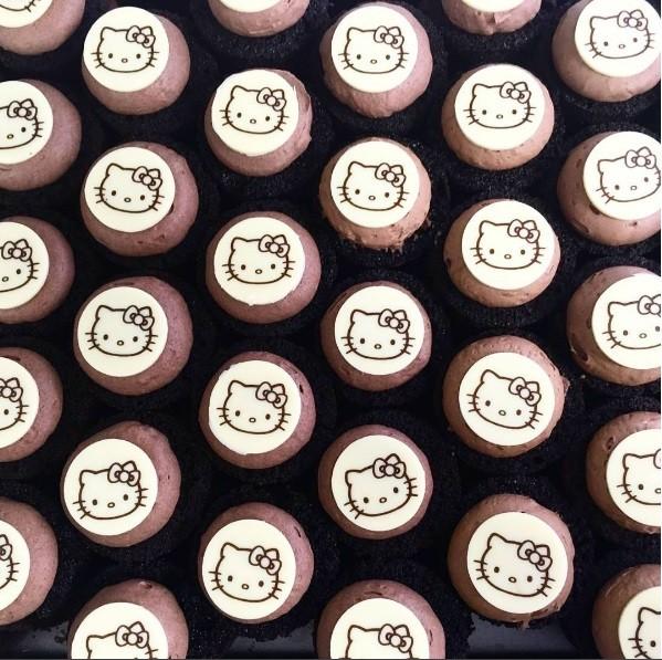 Chá da tarde da Hello Kitty em Londres (Foto: Divulgação)